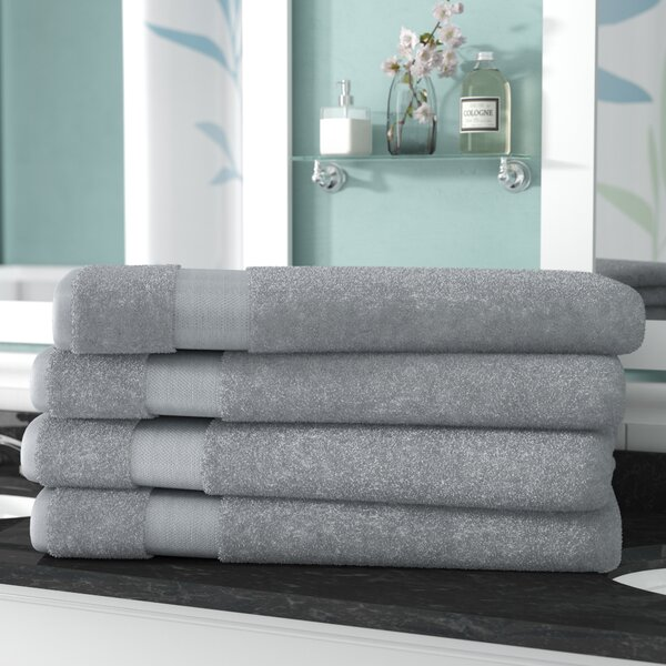 Luxurious 100% Cotton Bath Sheet Set (Set of 4) by The Twillery Co.
